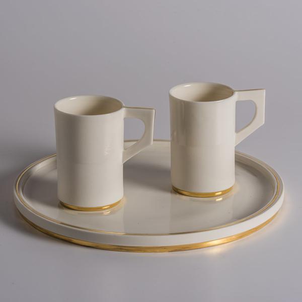 Assiette plus duo tasses Karen Petit