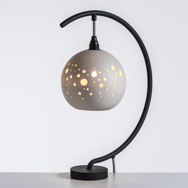 Lampe Aurore sphère Stéphanie Dastugue
