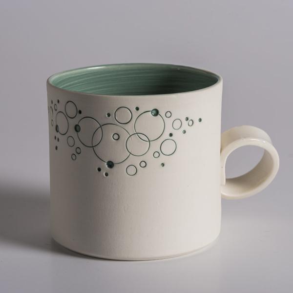 Tasse à café avec anse Mathilde Titoni