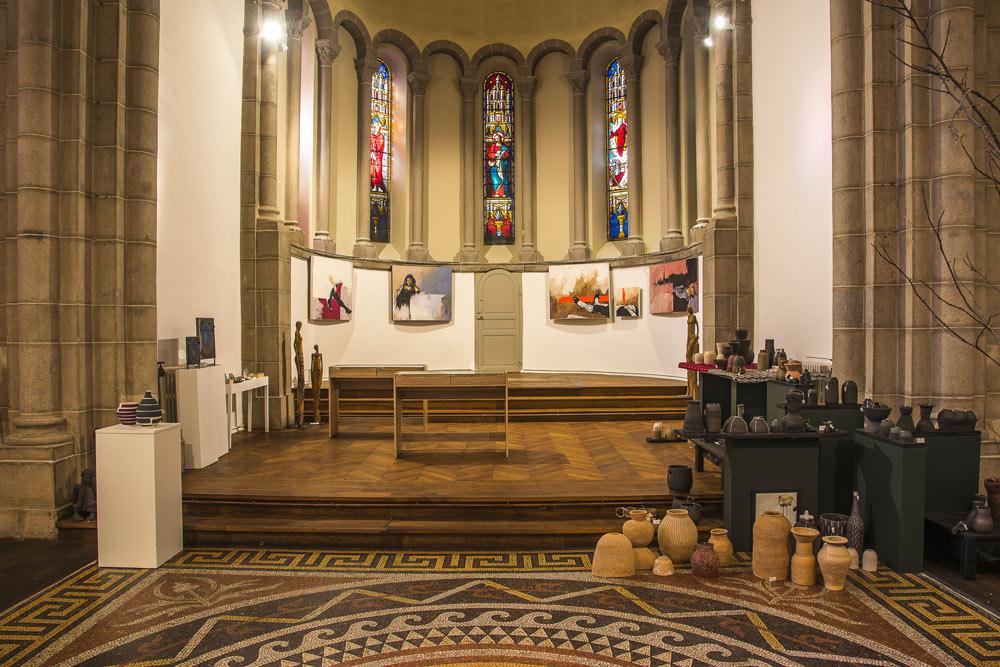 Bshop, ancienne chapelle transformée en boutique galerie dédiée aux métiers d'art