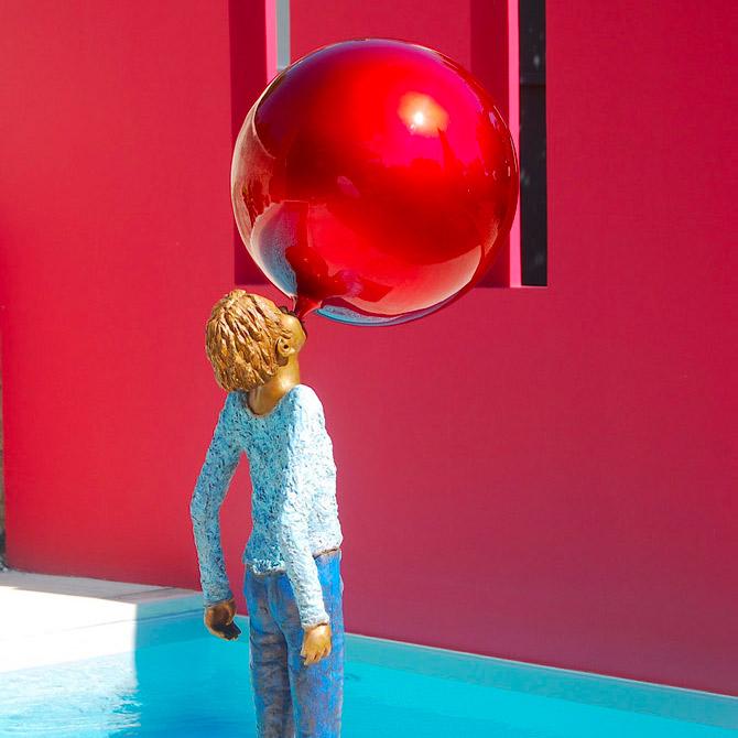Exposition temporaire Le grand ballon par Marie-Noëlle Ronayette
