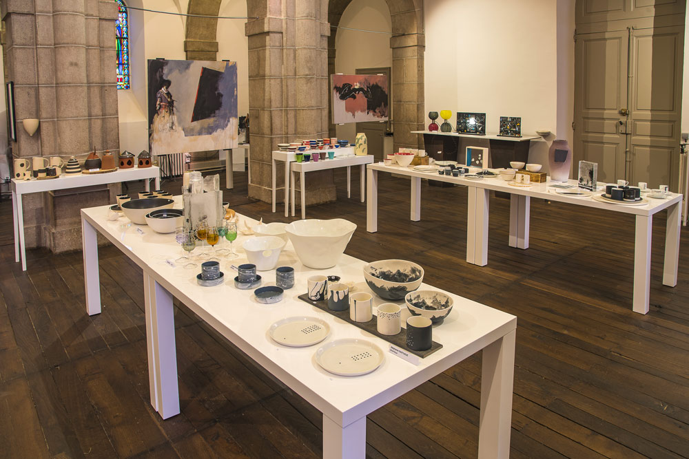 Exposition d'objets d'art à Rodez en aveyron
