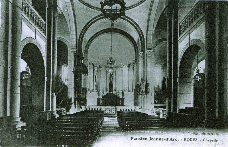 Photo de l'ancienne chapelle du Sacré coeur de Rodez