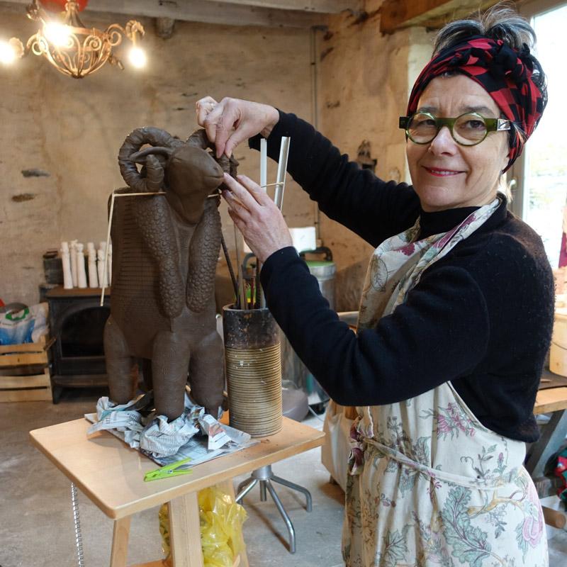 Vérnonique Bénony Sculptrice